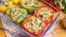 Tex-Mex Quinoa Stuffed Peppers